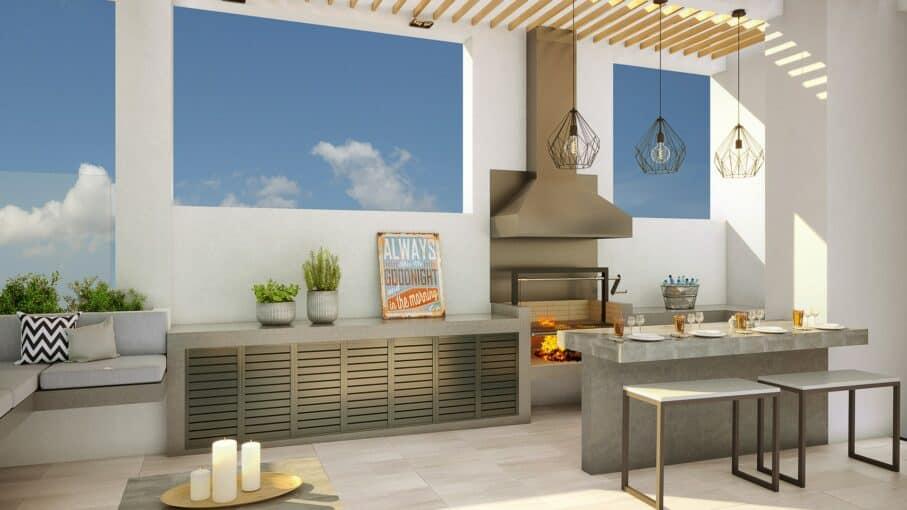 Eco costas cocina