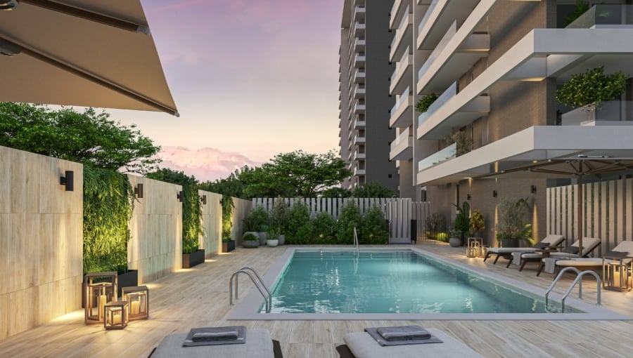 eco quilin piscina